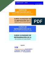 Cursos Climatizacion y Refrigeracion 2017-2018 de NIK INGENIEROS (1)