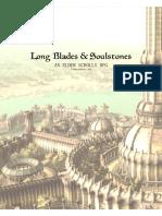 ELder Scrolls RPG