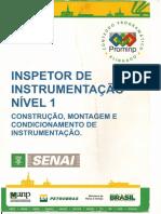 INSPETOR de INSTRUMENTAÇÃO N-1 Construção Montagem e Condicionamento de Instrumentação