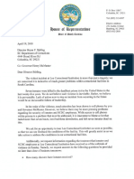 Letter to Director Stirling From Democratic Lawmakers