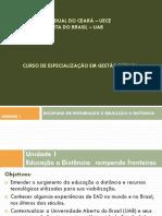 Introdução à Educação a Distância - Slides Unidade 1.17