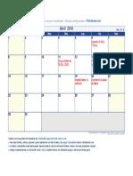 Agenda Abril 2018