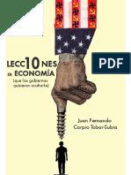 10 Lecciones de Economía - Juan Fernando Carpio