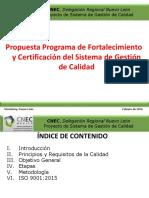 Resumen de ISO 9001