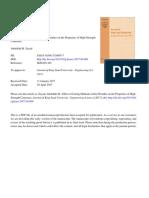 Efectos de Los Metodos de Curado en Climas Calidos Sobre Las Propiedades de Los Hormigones de Alta Resistencia
