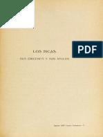 R.E Latcham - Los Orígenes de Los Incas
