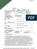GIlmer Affidavit Arrest