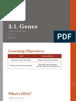 3 1 Genes Presentation