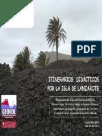 Itinerarios Didacticos en Lanzarote