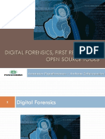 f15160704 Digital Forensics, First Response & Open Source Tools