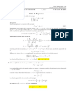 Corrección Primer Parcial de Cálculo III, martes 17 de abril  de 2018