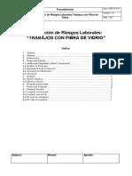 001 - PRL TFV 01 Prevencion de Riesgos Laborales en Trabajos Con Fibra de Vidrio
