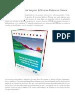 Manual Para La Gestión Integrada de Recursos Hídricos en Cuencas Hidrograficas