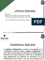 Presentación Estadistica Clase 1