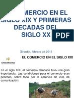 El Comercio en El Siglo Xix y Primeras Decadas Del Siglo Xx