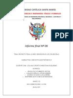 informe 6 - proyecto