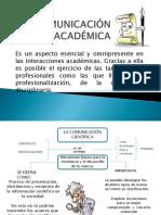 La Comunicación Académica