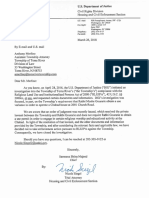 Department of Justice Letter To Toms River