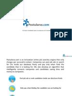Postularse - English Version (1)