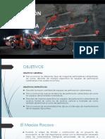 Equipos de Perforación en Minería Subterranea
