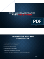 Rock Mass Classification - Qsystem