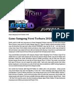 Game Samgong Versi Terbaru 2018