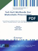 Sol-gel Methds for Materials Processing