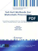 Sol-gel Methds for Materials Processing