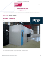 Acoustic Enclosure - Procter Machine Safety