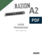 Generation A2 Guide Du Prof