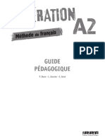 Generation A2 Guide Du Prof