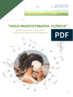 Dossier Seminario de Musicoterapia
