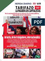 La Izquierda Diario impreso - 1º de Mayo