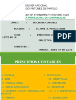 Principios Contables y Leyes de La Dialéctica