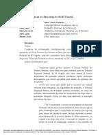 Decisão Dias Toffoli - José Dirceu