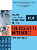 Simon Baron Cohen the Essential Difference the Truth About the Male and Female Brain