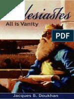 (Eclesiastes) Todo Es Vanidad - Jacques Doukhan - MilagroKreativo(1)