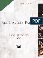 Aviles Fabila Rene - Los Juegos.epub