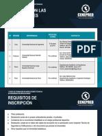 Contacto Universidades Curso ITSE v2