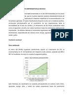 Balance Sector Hortifruticola Diciembre 2016