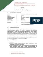 MS311 Constitución y Derecho Empresarial