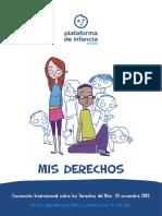 Derechos de Los Niños y Adolescentes (13-17)