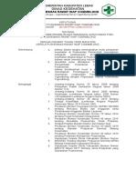 067 Sk Penanggung Jawab Pengelolaan Keamanan Lingkungan Fisik Puskesmas Cigemblong