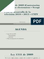 Ley 1341 y Plan de Desarrollo de La TV Final