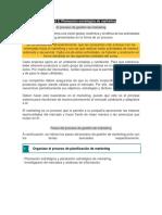 Unidad 2.- Planeación Estratégica de Marketing