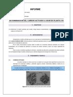 215199147 Determinacion Del Carbon Activado a Usar en Planta Cic Copia