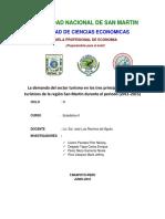 Investigacion Del Sector Turismo