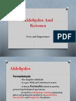 Aldehydes and Ketones Presentation