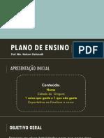 Apresentacao Plano de Ensino - Analise Das Dem (Adm)