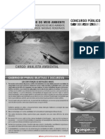 Prova Analista Ambiental Conhec Basicos Ibama13 Cb 01 1